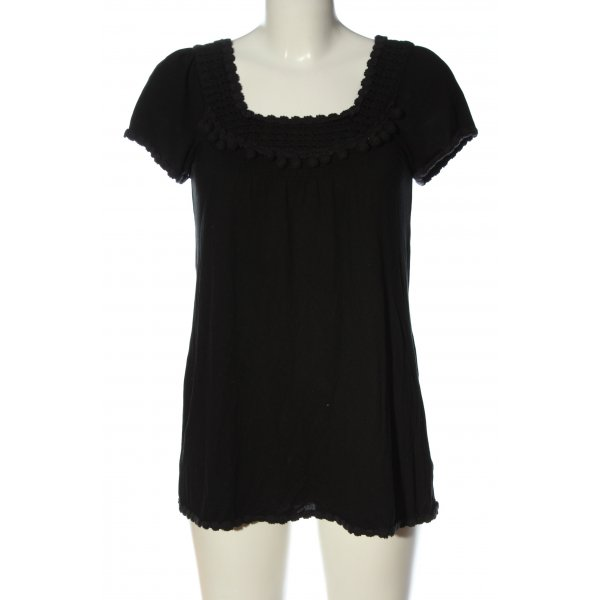 Juicy Couture Schlupf-Bluse schwarz Casual-Look