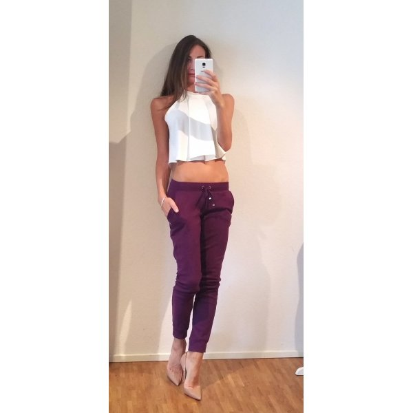 Juicy Couture Sweat Pants gold-colored-brown violet