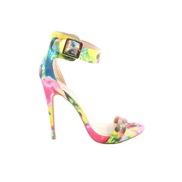 Just Fab High Heel Sandaletten mehrfarbig Elegant