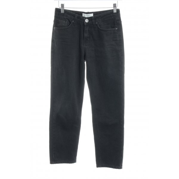 Just Female Straight-Leg Jeans dunkelgrau-anthrazit Casual-Look