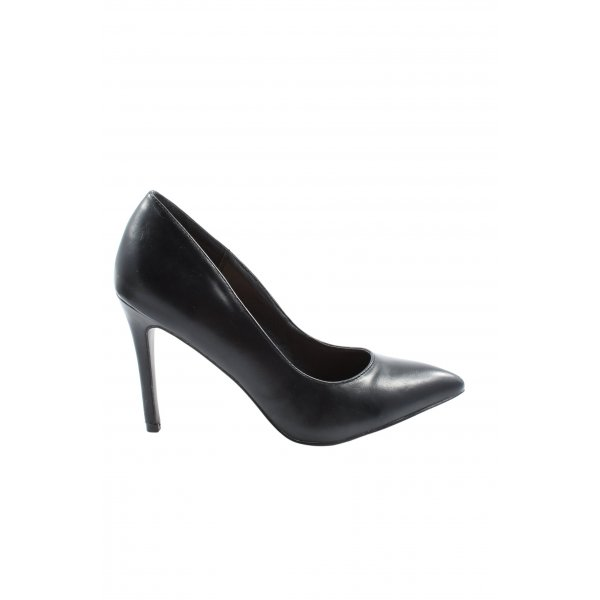 JustFab High Heels schwarz Casual-Look
