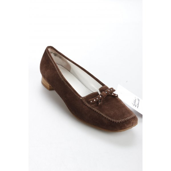 K+S Shoes Halbschuhe braun Casual-Look