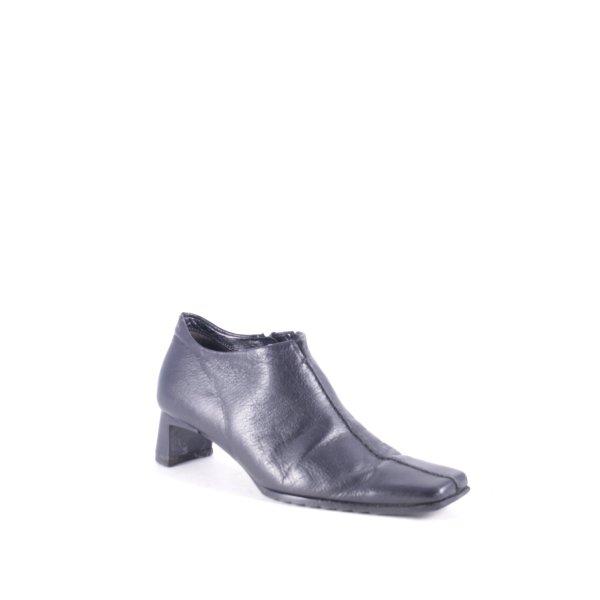 K+S Shoes Halbschuhe schwarz minimalistischer Stil