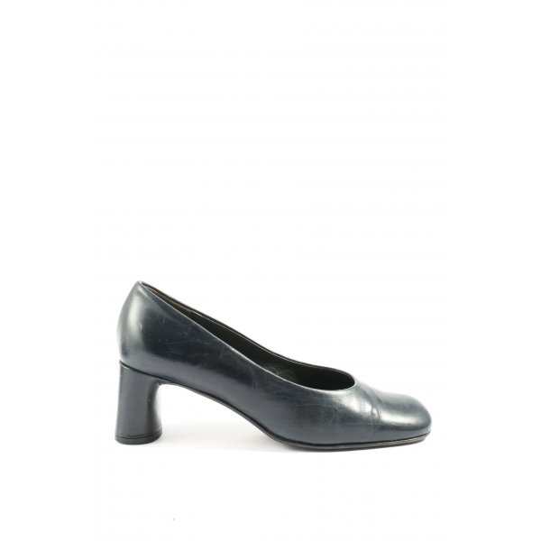 K+S Shoes Hochfront-Pumps schwarz Business-Look