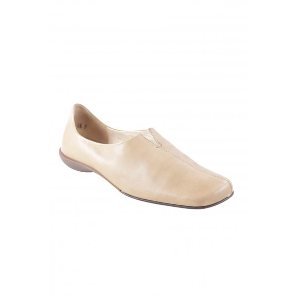K+S Shoes Mokassins sandbraun Casual-Look