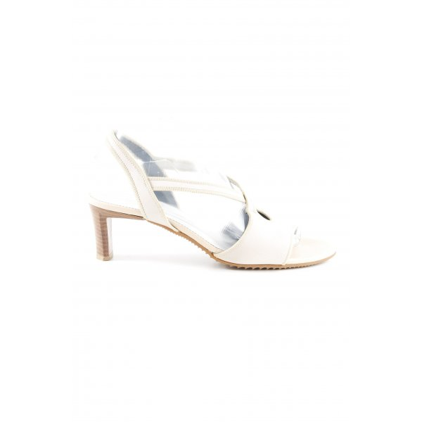 K+S Shoes Peeptoe Pumps blasslila-creme Elegant