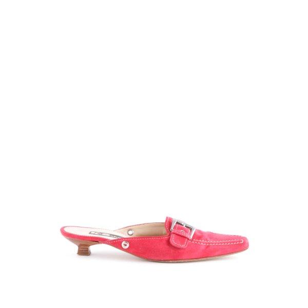 K+S Shoes Spitz-Pumps rot extravaganter Stil