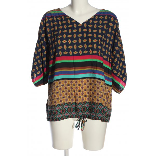Kapalua Oversized Bluse Allover-Druck Casual-Look