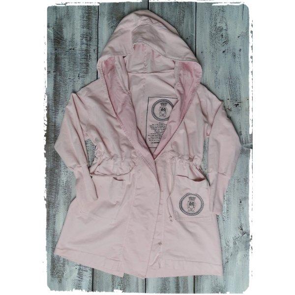 Sweat Jacket pink-light pink cotton