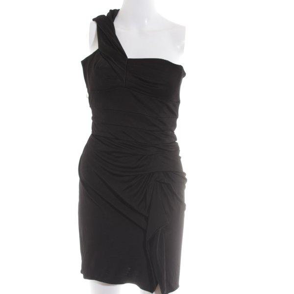KAREN MILLEN One-Shoulder-Kleid schwarz Elegant
