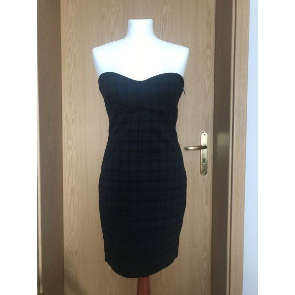 Kariertes Mini Kleid