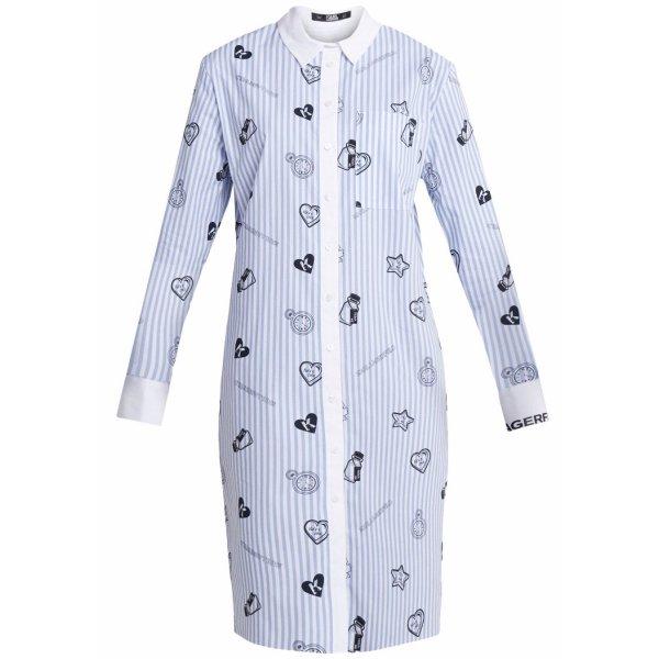 KARL LAGERFELD Blusenkleid