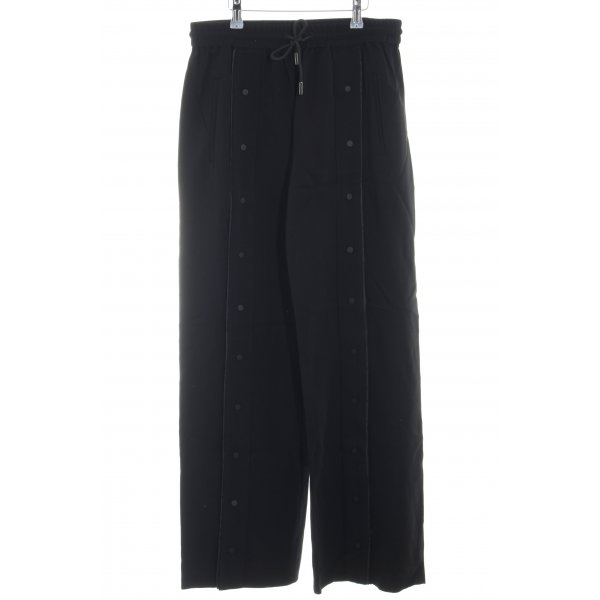 Karl Lagerfeld Stoffhose schwarz-weiß