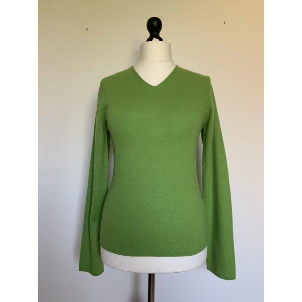 FTC Cashmere Cashmere Jumper meadow green cashmere