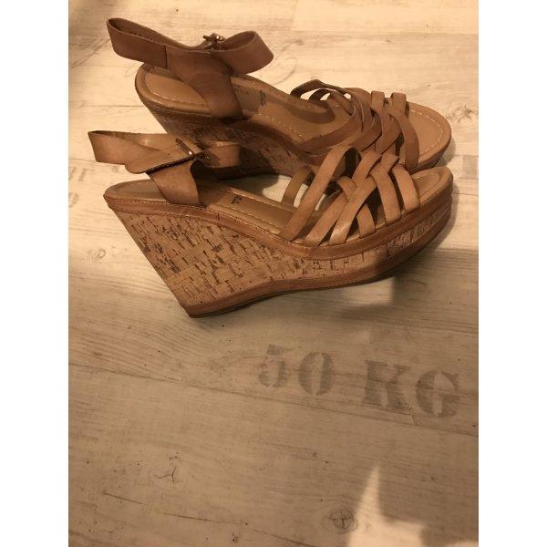 Keilabsatz Sandalen -