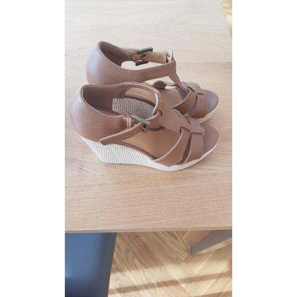 Keilabsatz Sandaletten