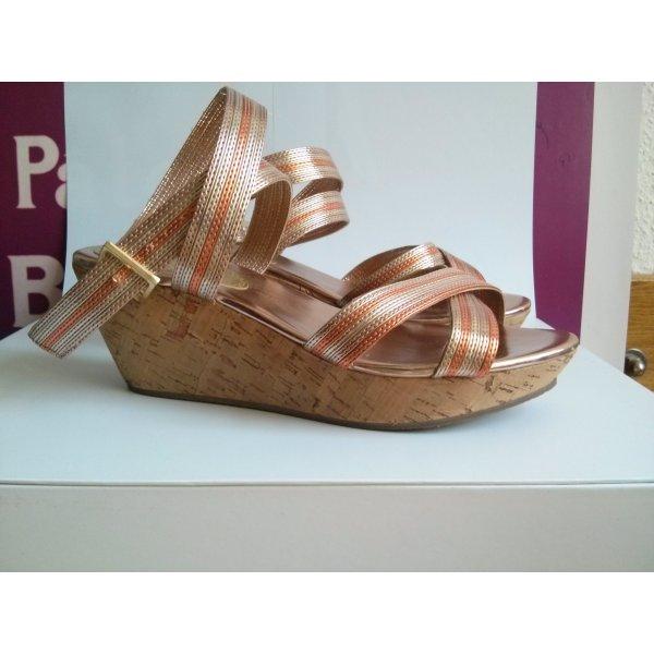 H&M Platform High-Heeled Sandal multicolored cashmere