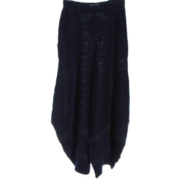 Kekoo Culottes schwarz-blau Casual-Look