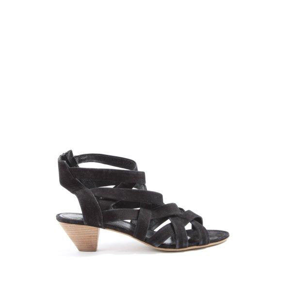 Kennel + schmenger High Heel Sandaletten schwarz Casual-Look