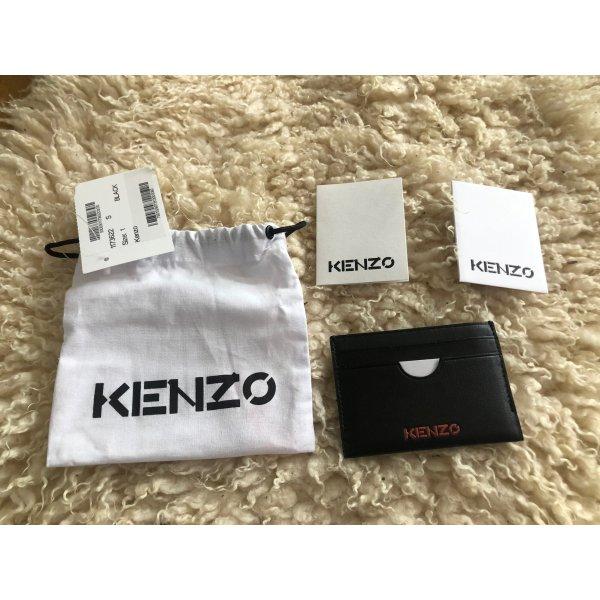 Kenzo Kartenetui mit Prägung Schwaz NEU OVP