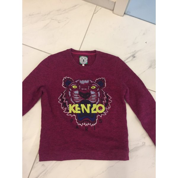 Kenzo Pull long rouge mûre-rouge