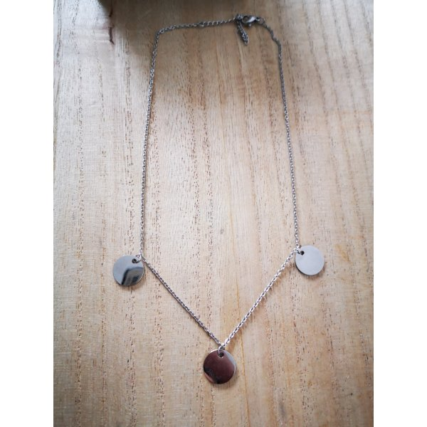 Luamaya Necklace silver-colored