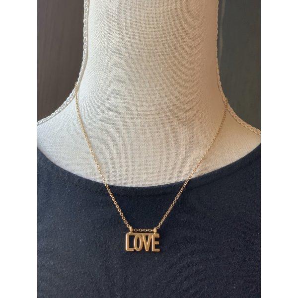 """Kette mit """"Love"""" Anhänger"""
