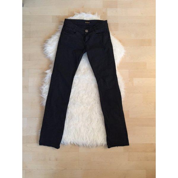 Killah Hose schwarz biker Jeans