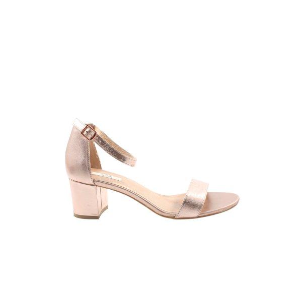 Kiomi Plateau-Sandaletten pink Business-Look