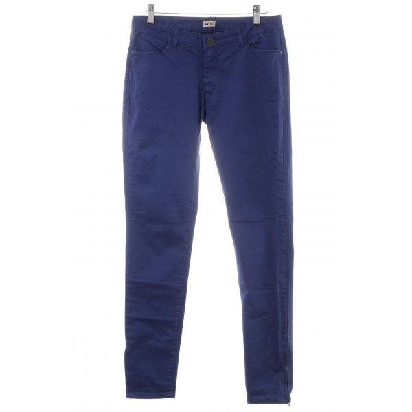 Kiomi Röhrenhose blau Casual-Look
