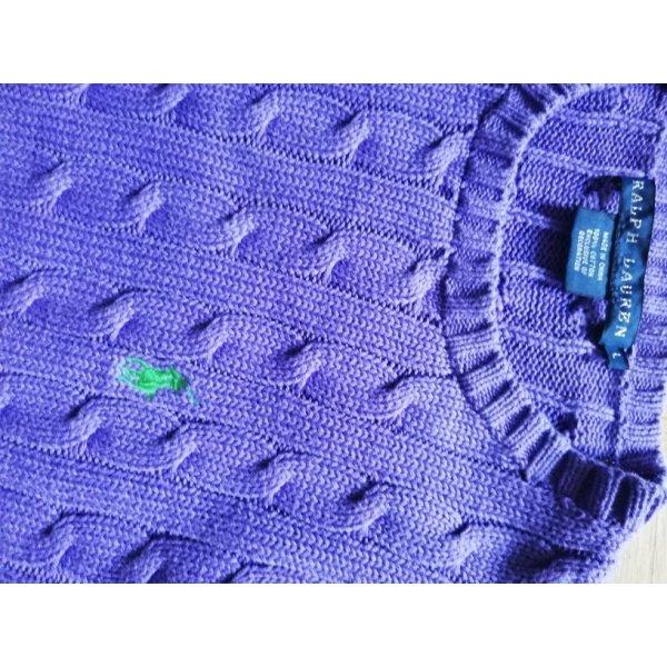 Lauren by Ralph Lauren Jersey trenzado lila Algodón