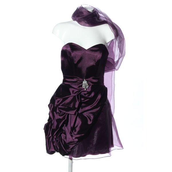 KLEEMEIER Cocktailkleid lila Elegant