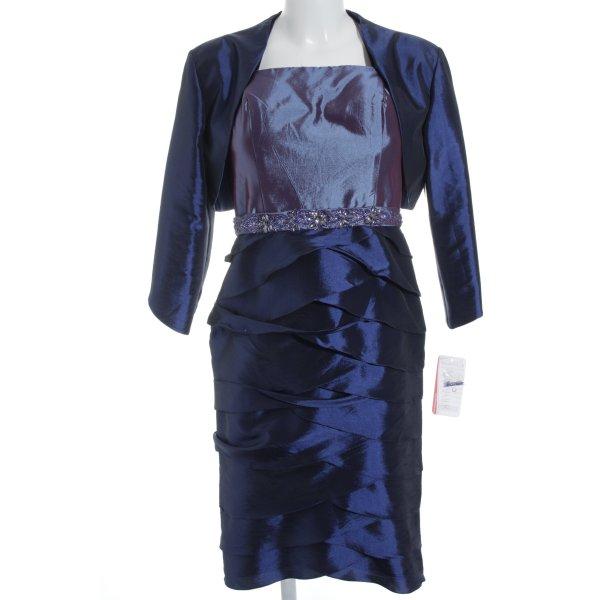 Kleemeier Hof Ballkleid blauviolett-dunkelblau Elegant
