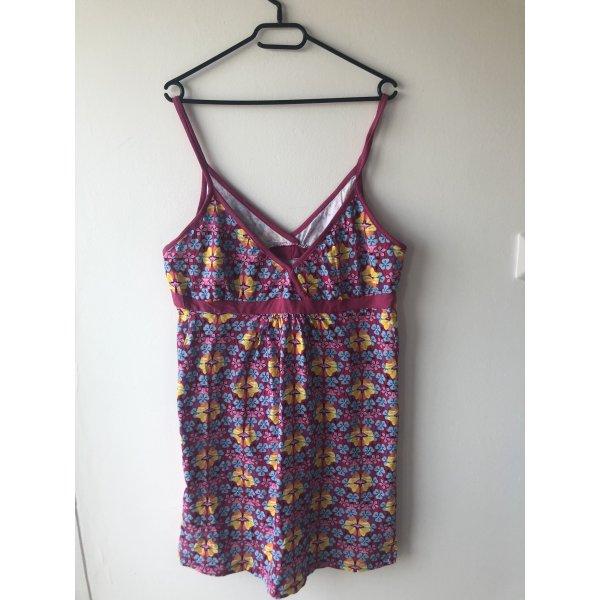 Vestido de Verano púrpura-amarillo