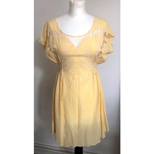 Kleid / langes Top in sehr tollem Gelb, Gr. M