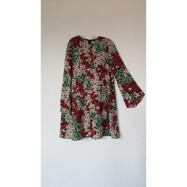 Kleid mit Blumendruck ZARA Gr.s