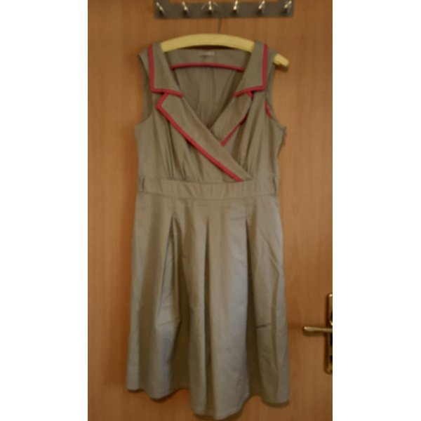 Orsay A Line Dress beige-magenta