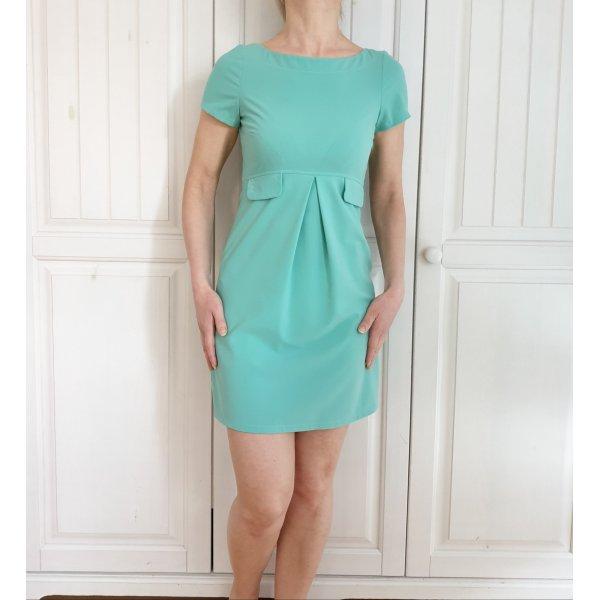Kleid Sommerkleid 32 XS türkis grün blau babydoll vintage Dress Rock mötivi
