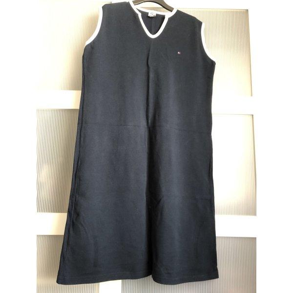 Kleid Tommy Hilfiger L blau weiss