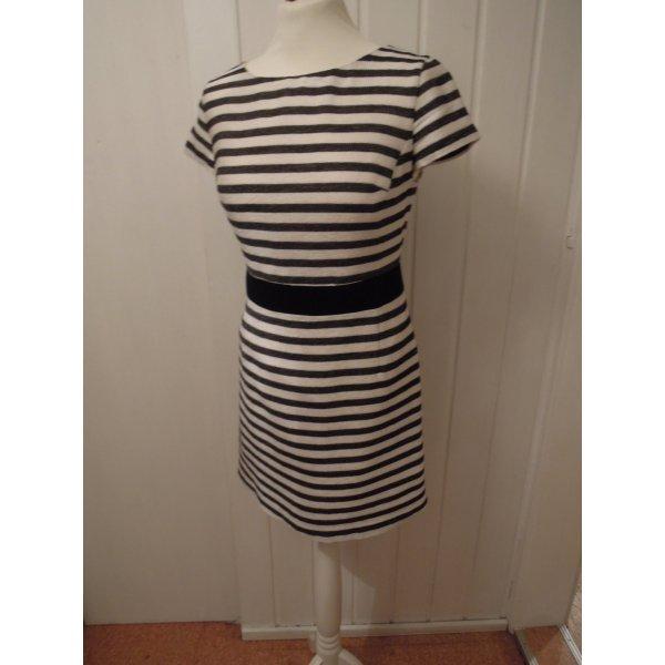 Kleid Tunika Cocktailkleid Shirt OASIS Gr.36 10 gestreift schwarz weiß Streifen