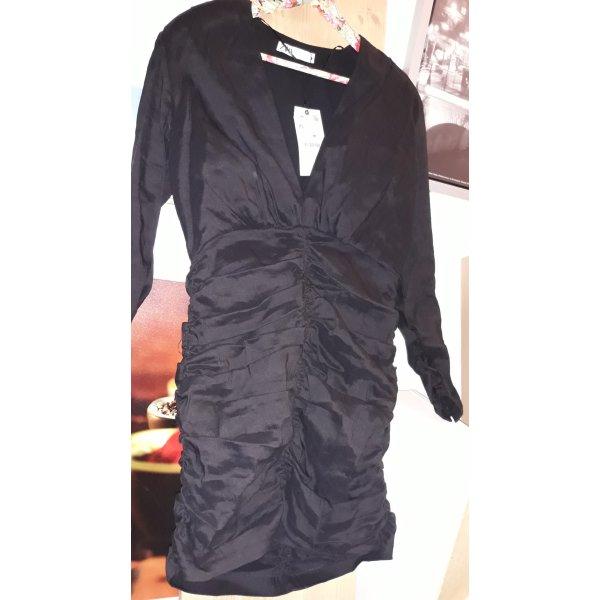 Kleid von Zara, Schwarz, Gr. XL