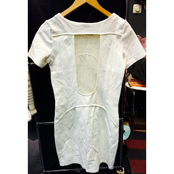 kleid wei gold transparent t shirt blogger hipster chanel. Black Bedroom Furniture Sets. Home Design Ideas