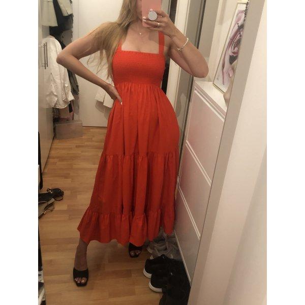 Kleid ZARA Orange neu XS