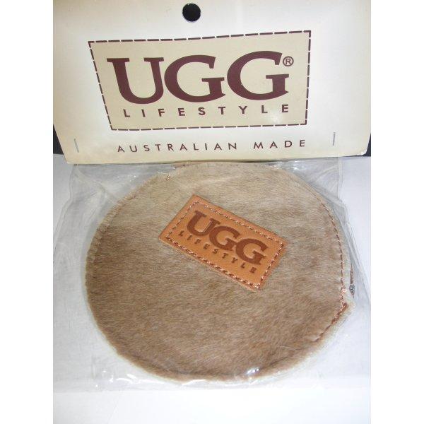 UGG Portefeuille marron clair-cognac tissu mixte