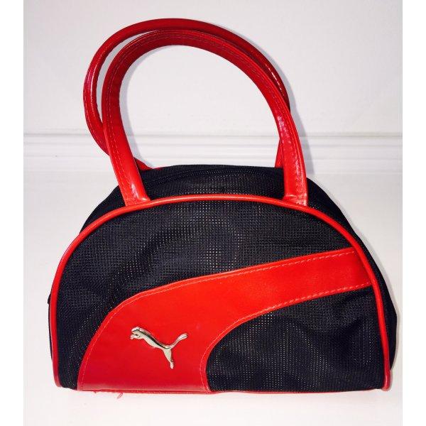 Puma Bolso de bolos negro-rojo