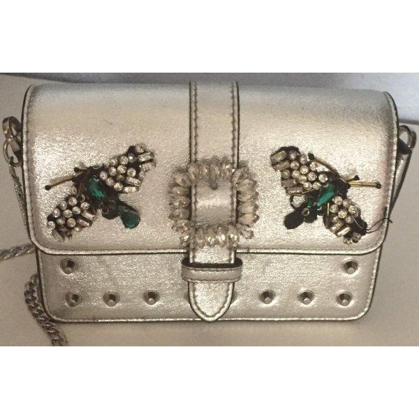 Kleine Handtasche Silber