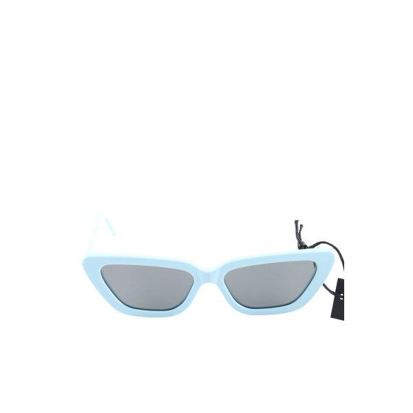 Komono eckige Sonnenbrille blau Casual-Look