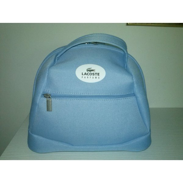 Lacoste Cosmeticabox azuur Polyester