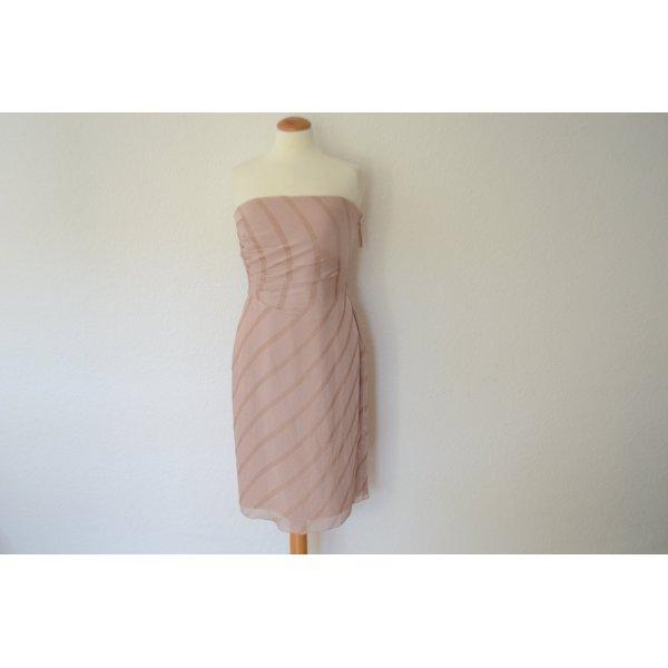 kostbares Couture Abendkleid mit integrierter Corsage NEU Kleid