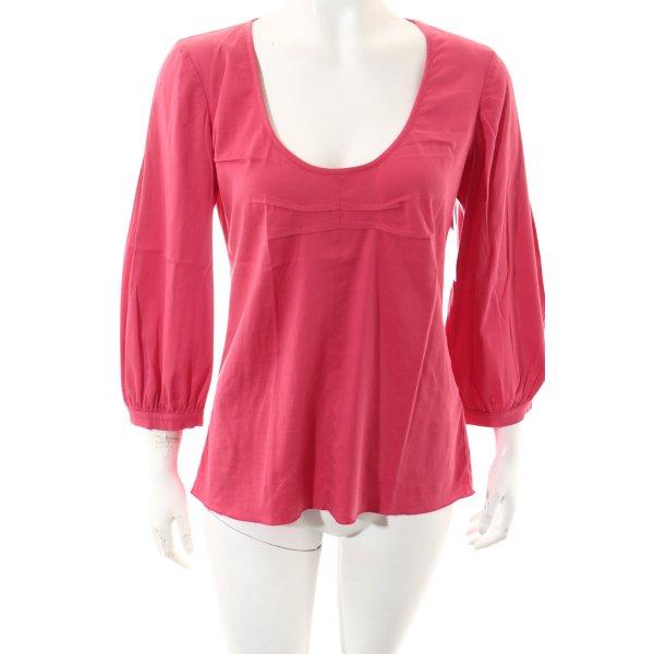 Kristina Ti Shirt pink schlichter Stil